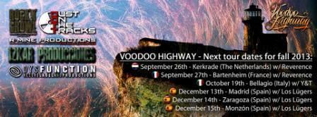 Concierto Voodoo Highway en pub Eccos Zaragoza