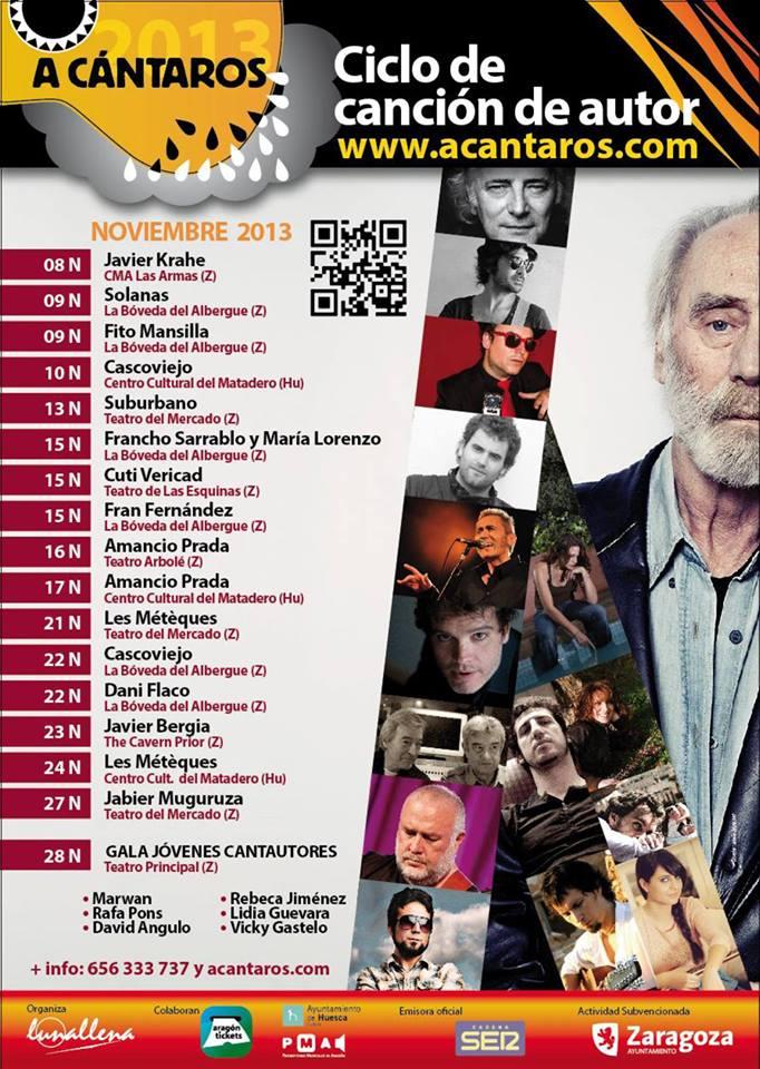 Festival A CÁNTAROS 2013 zgz conciertos