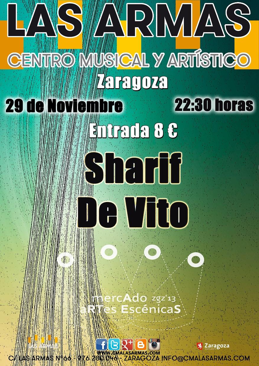 SHARIF + DE VITO zgz conciertos
