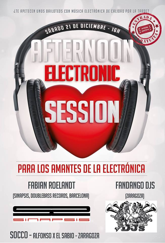 AFTERNOON ELECTRONIC SESSION zgz conciertos