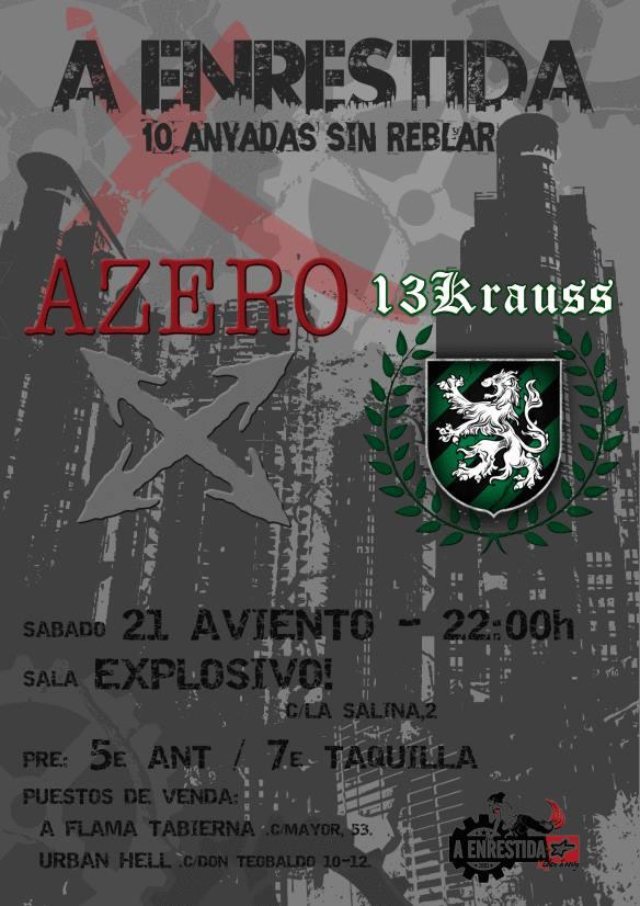 AZERO + 13KRAUSS zgz conciertos