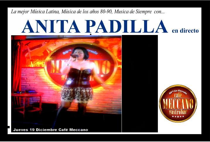 Anita Padilla zgz conciertos