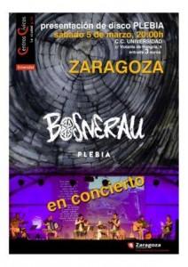 BOSNERAU @ CENTRO CIVICO UNIVERSIDAD | Zaragoza | Aragón | España
