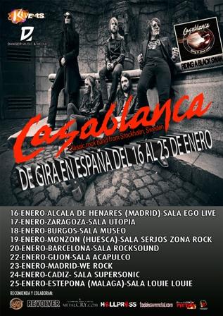 Concierto Casablanca Zaragoza