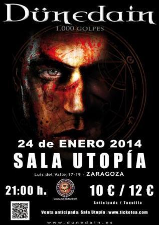 Concierto Dunedain Sala Utopia Zaragoza