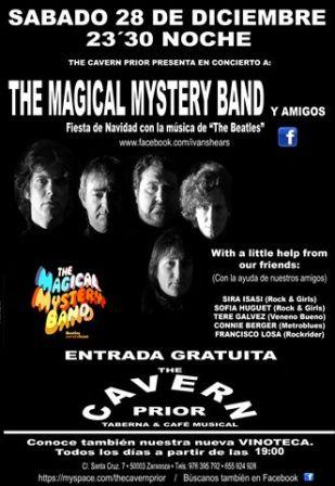 Concierto The Magical Mystery Band en The Cavern Prior