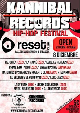 Hip Hop Festival Kannibal Records Zaragoza