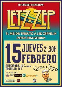 LETZ ZEP @ LA CASA DEL LOCO | Zaragoza | Aragón | España