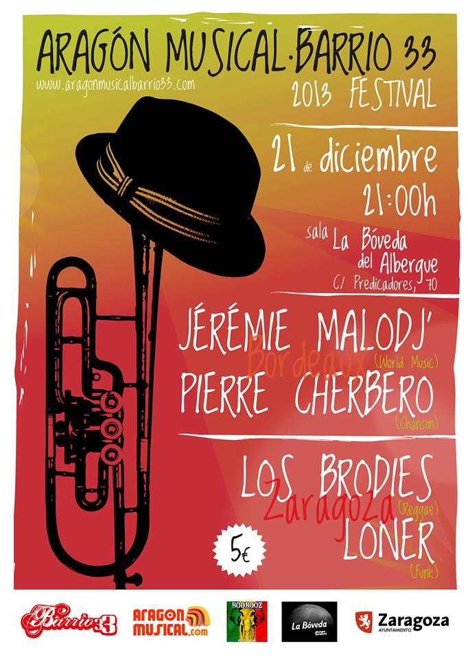 V Festival Aragón Musical Barrio 33 zgz conciertos