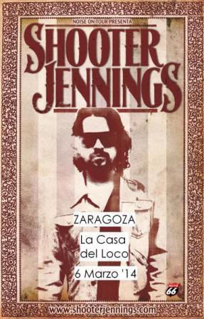 Concierto Shooter Jennings en La Casa Del Loco