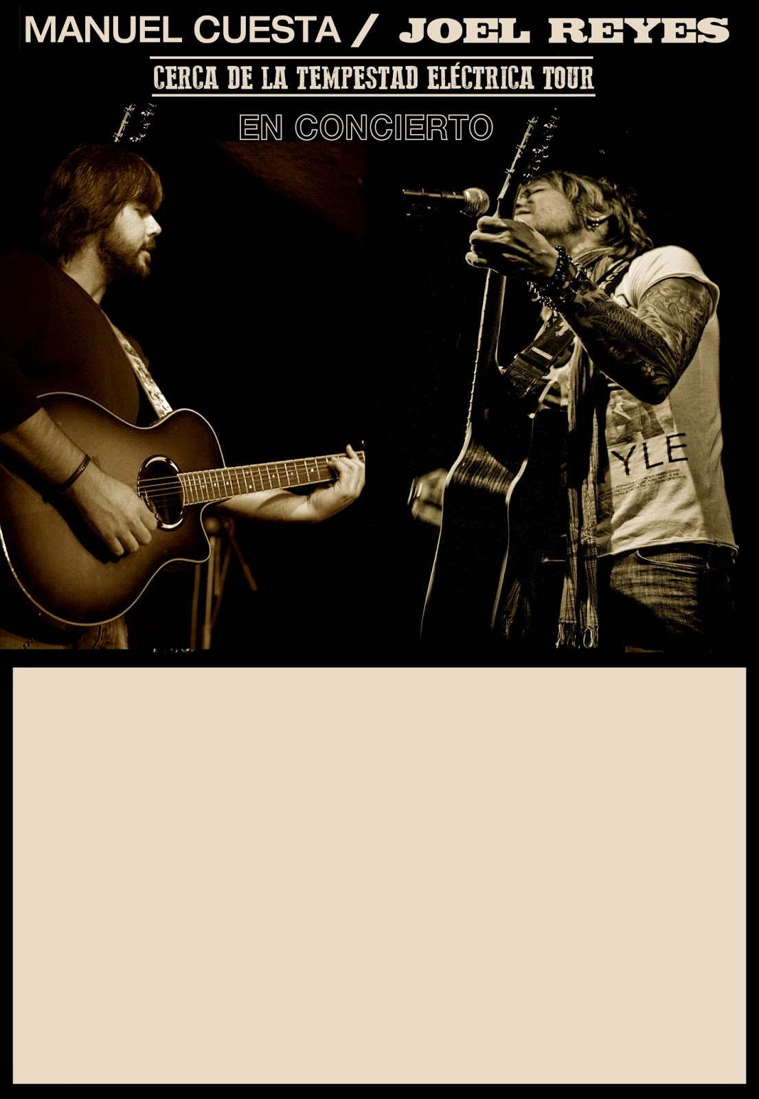 Joel Reyes y Manuel Cuesta zgz conciertos