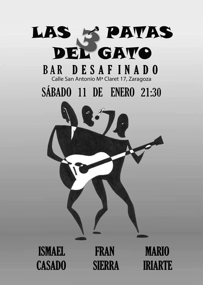 LaS TrEs PaTaS dEL GaTo zgz conciertos