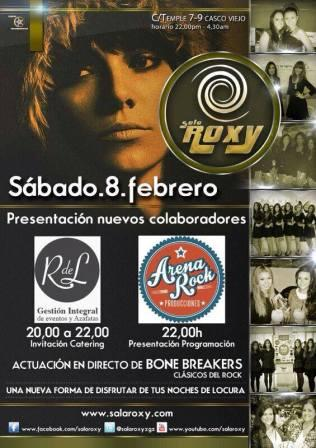 Concierto Bonebreakers en Sala Roxy