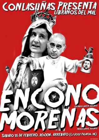 Concierto Encono + Morenas en Arrebato