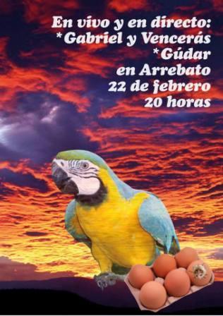 Concierto Gabriel y Venceras + Gudar