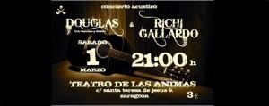 DOUGLAS & RICHI GALLARDO @  El Teatro de las Ánimas | Zaragoza | Aragón | España