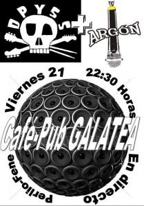 DPYSS + ARGÓN @ Cafe-Pub Galatea