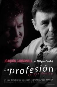 JOAQUIN CARBONELL Y PHILIPPE CHARLOT @ Drinks & Pool | Zaragoza | Aragón | España