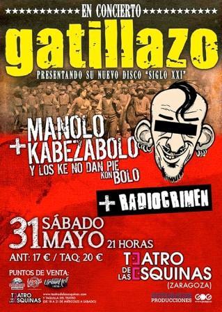 MKB Gatillazo Radiocrimen en Teatro de las Esquinas