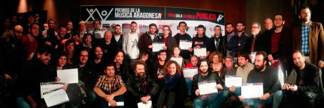 XV Nominados Premios de la Música Aragonesa 2013