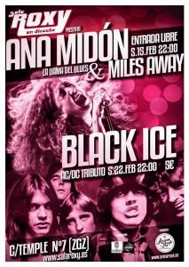 BLACK ICE @ Sala Roxy | Zaragoza | Aragón | España