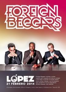 FOREIGN BEGGARS @ SALA LOPEZ | Zaragoza | Aragón | España