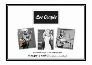 LOS COUPÉS @ VINAGRE & ROCK | Zaragoza | Aragón | España