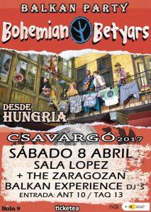 BOHEMIAN BETYARS @ SALA LOPEZ | Zaragoza | Aragón | España