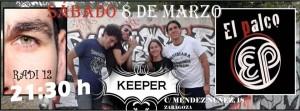 EL PALCO + RADI 12 @ KEEPER ZGZ | Zaragoza | Aragón | España