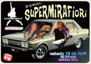 SUPERMIRAFIORI @ SALA CREEDENCE | Zaragoza | Aragón | España