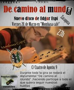 Edgar Espí @ Mombasa Café  | Zaragoza | Aragón | España