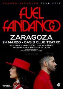 FUEL FANDANGO @ OASIS CLUB TEATRO | Zaragoza | Aragón | España
