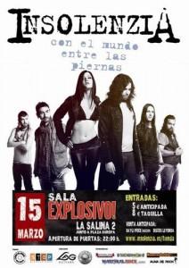 INSOLENZIA @ Explosivo! Club de baile | Zaragoza | Aragón | España