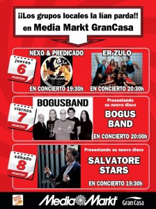 SALVATORE STARS @ Media Markt | Zaragoza | Aragón | España