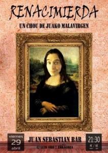 JUAKO MALAVIRGEN @ JUAN SEBASTIAN BAR | Zaragoza | Aragón | España
