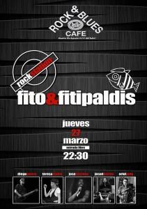 FITO&FITIPALDIS TRIBUTE @ Rock & Blues  | Zaragoza | Aragón | España