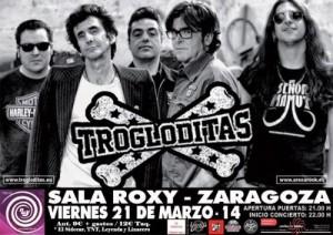 TROGLODITAS @ Sala Roxy | Zaragoza | Aragón | España
