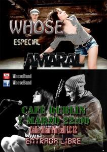 Whose @ Cafe Dublin | Zaragoza | Aragón | España