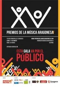 XV Premios de la Música Aragonesa @ Teatro Principal | Zaragoza | Zaragoza | España