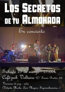 LOS SECRETOS DE TU ALMOHADA @ café-pub Voltaire | Zaragoza | Aragón | España