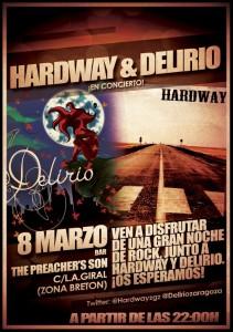 HARDWAY & DELIRIO @ The Preacher's Son | Zaragoza | Aragón | España