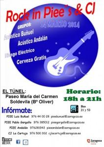 ROCK IN PIEE´S & CJ @ EL TUNEL  | Zaragoza | Aragón | España