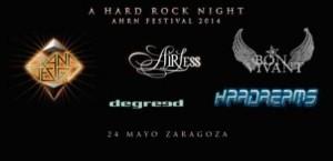 A HARD ROCK NIGHT @ LA CASA DEL LOCO | Zaragoza | Aragón | España