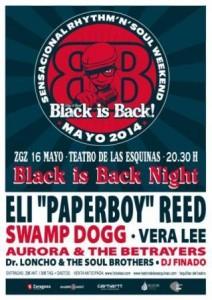 BLACK IS BACK @ TEATRO DE LAS ESQUINAS | Zaragoza | Aragón | España