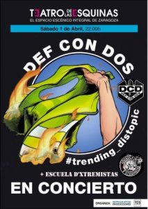 DEF CON DOS @ TEATRO DE LAS ESQUINAS | Zaragoza | Aragón | España
