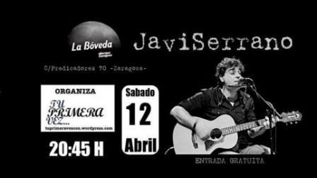 Concierto Javi Serrano en La Boveda