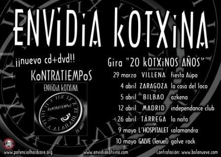 Concierto de Envidia Kotxina