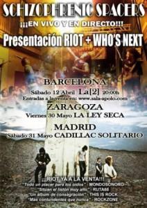 SCHIZOPHRENIC SPACERS @ LA LEY SECA | Zaragoza | Aragón | España