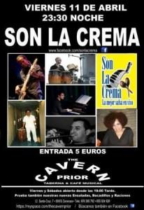 SON LA CREMA @ CAVERN PRIOR | Zaragoza | Aragón | España