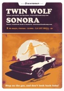 TWIN WOLF + SONORA @ LA LEY SECA | Zaragoza | Aragón | España
